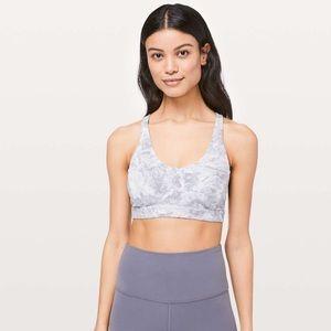 Lululemon marble strappy back sports bra